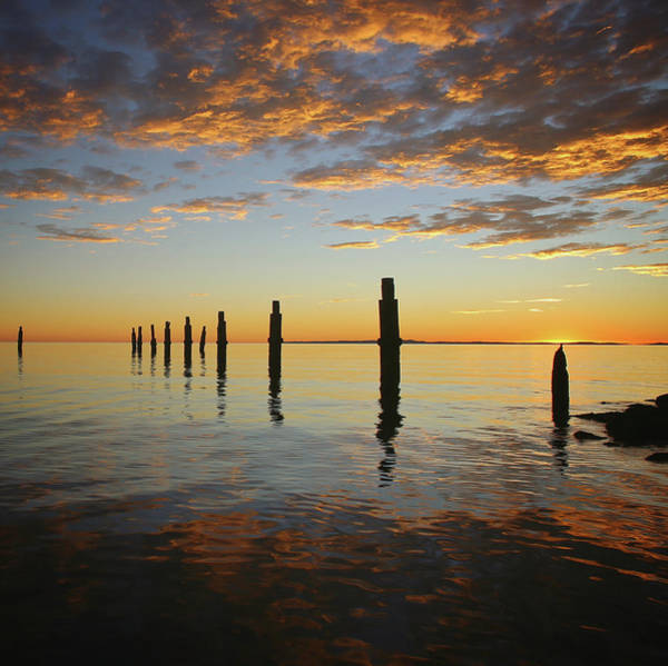 Photograph - Sunrise Over Moreton Bay by Keiran Lusk