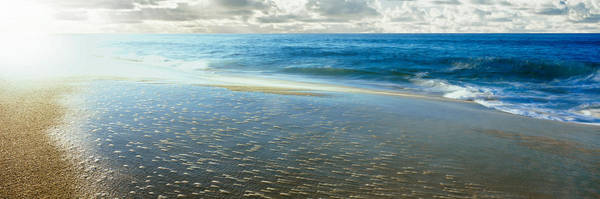 Baja California Peninsula Wall Art - Photograph - Sunrise Over Pacific Ocean, Lands End by Panoramic Images