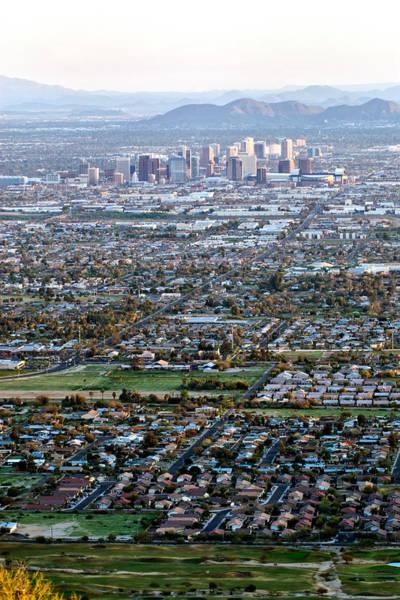 Photograph - Sunrise Over Phoenix Arizona by Renee Hong