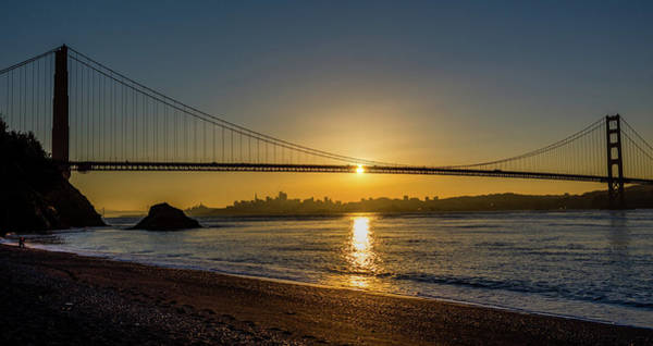 Photograph - Sunrise Over San Francisco by Jack Peterson