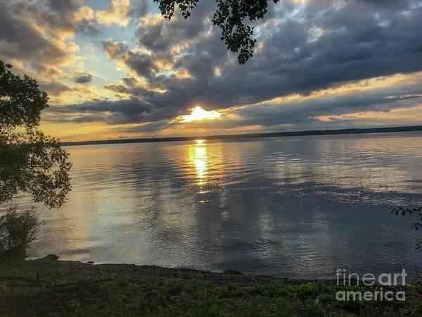 Photograph - Sunrise Over Seneca by William Norton