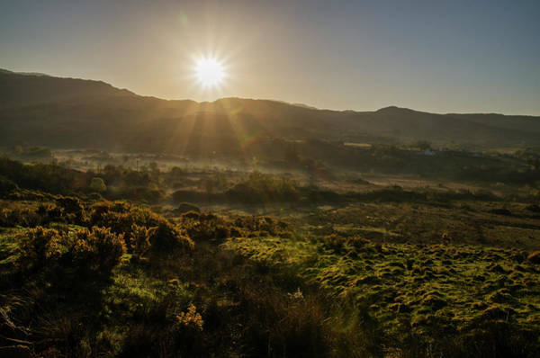 Photograph - Sunrise Over The Bluestack Mountains In Donegal Ireland by Bill Cannon