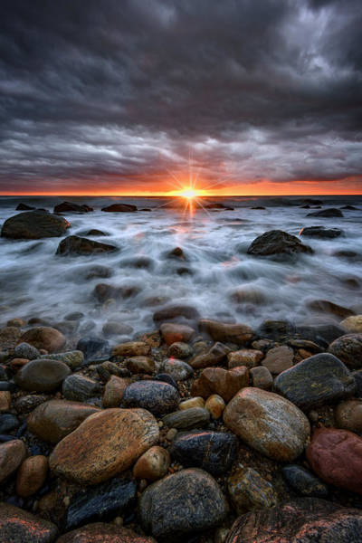 Photograph - Sunrise Over The East End by Rick Berk