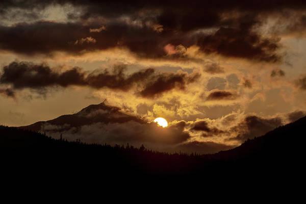 Photograph - Sunrise Over The Peak by Matt Swinden