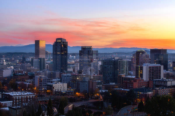 Wall Art - Photograph - Sunrise Over The Portland by Sungwook Choi