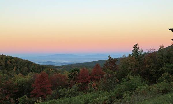 Photograph - Sunrise Over The Shenandoah Valley by M C Hood