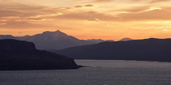 Photograph - Sunrise Over The Sleat Peninsula by Stephen Taylor