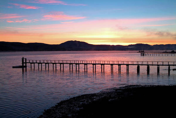 Sunrise Over Tomales Bay Art Print