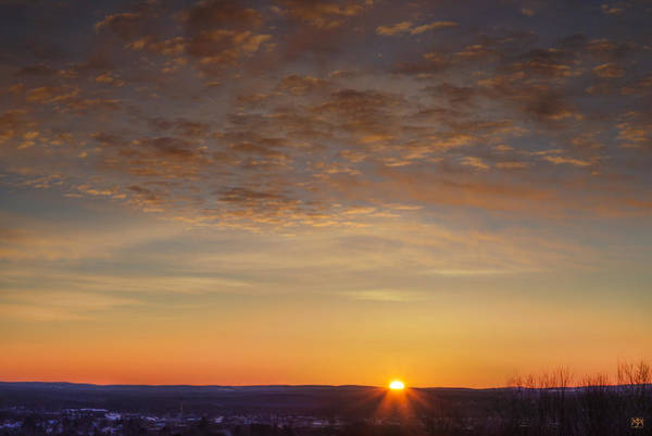 Photograph - Sunrise Over Waterville by John Meader