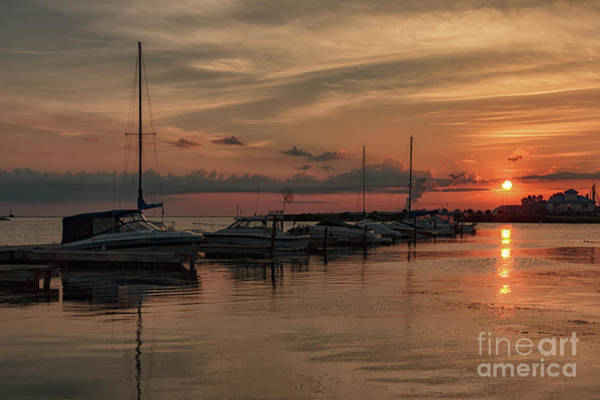 Photograph - Sunrise Over Wright's Landing by Rod Best