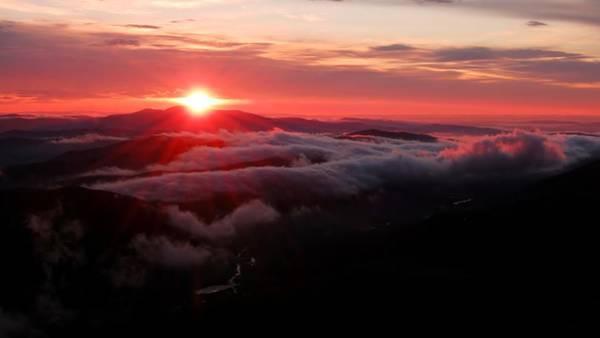 Sunrise Over Wyvis Art Print