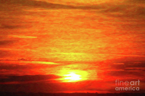 Photograph - Sunrise Paint by Donna L Munro