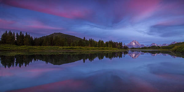 Wall Art - Photograph - Sunrise Panorama At Oxbow Bend by Andrew Soundarajan