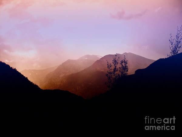 Photograph - Sunrise Peaks by Susan Warren