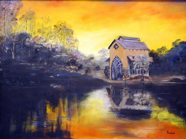 Painting - Sunrise by Phil Burton