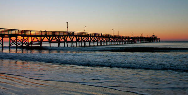 Photograph - Sunrise Pier by Ree Reid