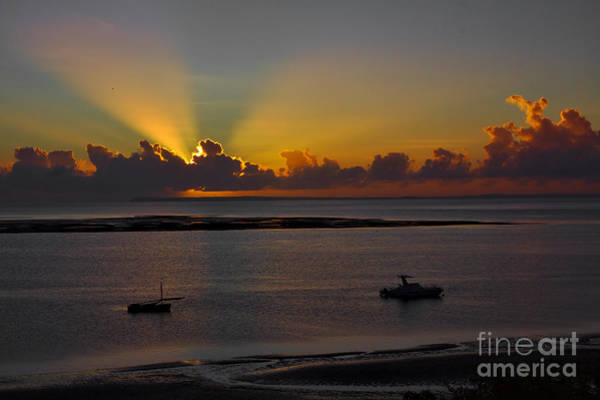 Photograph - Sunrise Rays by Jeremy Hayden
