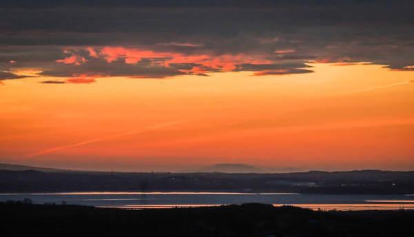 Photograph - Sunrise Reflecting In River Fergus by James Truett