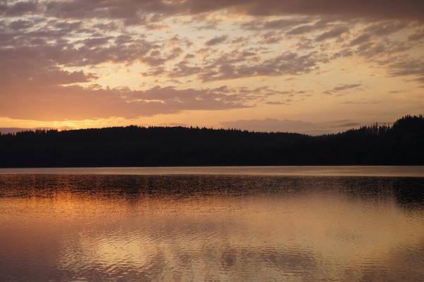 Shirleys Bay Photograph - Sunrise Reflecting On The Bay by Shirley Stevenson Wallis
