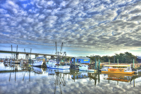 Photograph - Sunrise Reflections Tybee Island Georgia by Reid Callaway