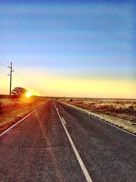 Photograph - Sunrise Road by Brad Hodges