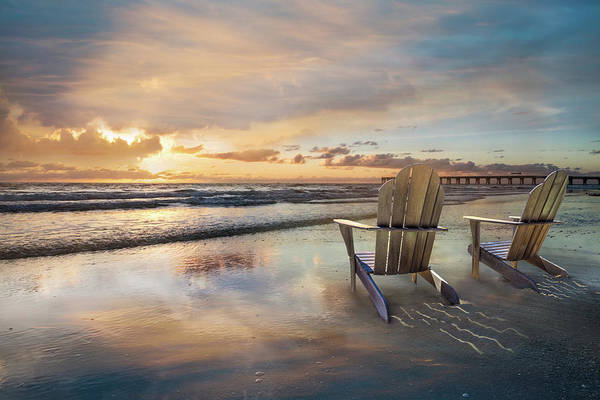 Boynton Photograph - Sunrise Romance by Debra and Dave Vanderlaan