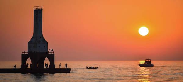 Photograph - Sunrise Sail II by James Meyer