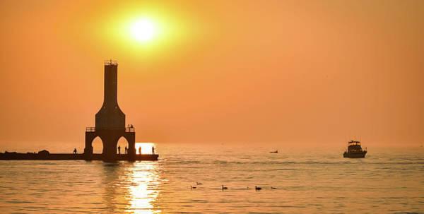 Photograph - Sunrise Sail IIi by James Meyer