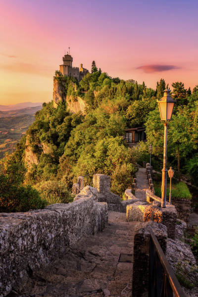 Photograph - Sunrise - San Marino by Nico Trinkhaus