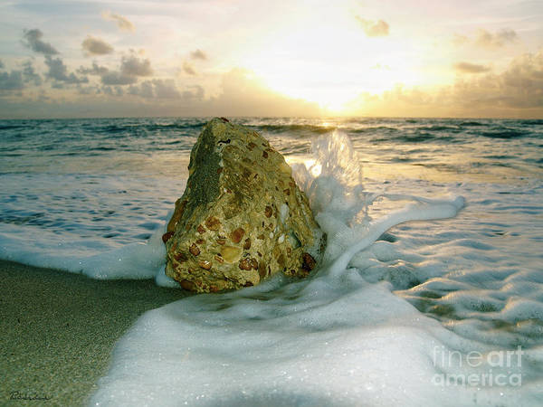 Photograph - Sunrise Seascape Wisdom Beach Florida C4 by Ricardos Creations