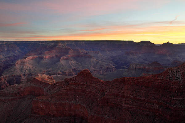 Photograph - Sunrise Sky At Grand Canyon by Pierre Leclerc Photography
