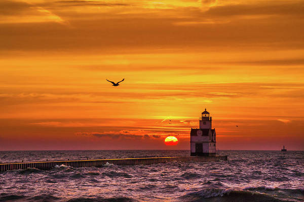 Wall Art - Photograph - Sunrise Solo by Bill Pevlor