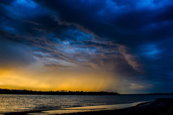 Photograph - Sunrise Storm by Jeff Phillippi