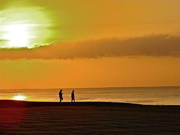 Photograph - Sunrise Stroll by Diana Hatcher