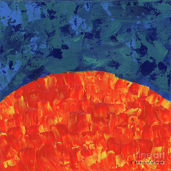 Painting - Sunrise Sunset 3 by Diane Thornton