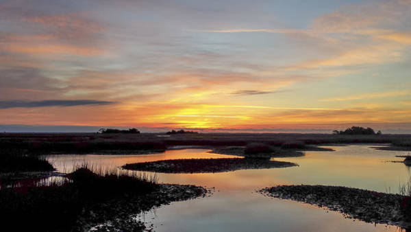 Photograph - Sunrise-sunset Art Photo - Low Tide II by Jo Ann Tomaselli