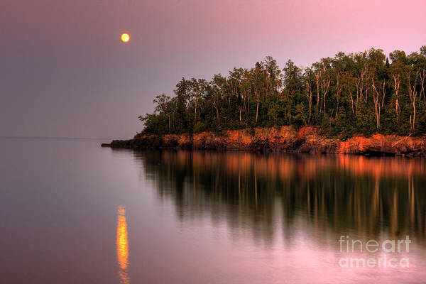 Photograph - Sunrise Sunset On Lake Superior 2 by Wayne Moran
