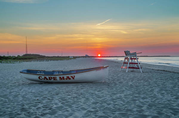 Wall Art - Photograph - Sunrise - The Beach At Cape May New Jersey by Bill Cannon