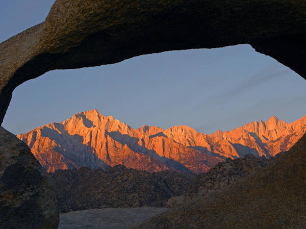 Photograph - D2m6445-sunrise Through Mobius Arch  by Ed  Cooper Photography