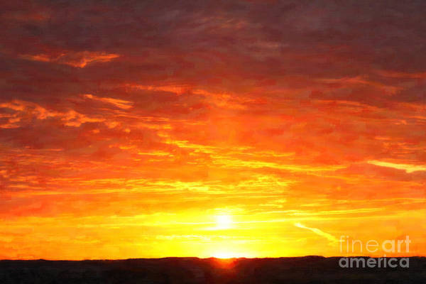Digital Art - Sunrise Thursday by Donna L Munro