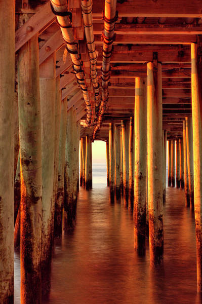 Photograph - Sunrise Under The Pier by Brian Pflanz