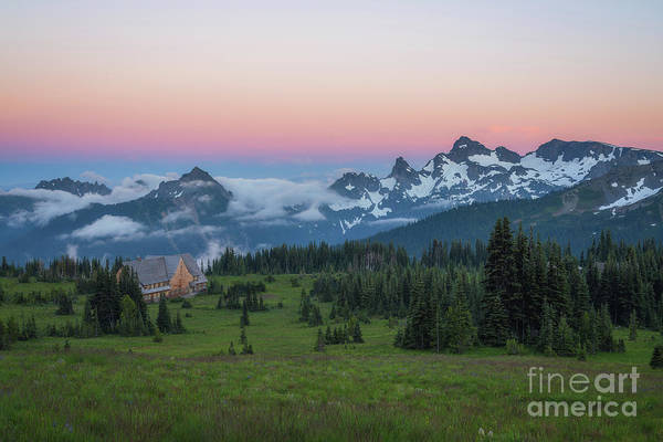Photograph - Sunrise Visitor Center At Sunset  by Michael Ver Sprill