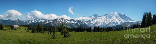Photograph - Sunrise Visitor Center Panorama by Michael Ver Sprill