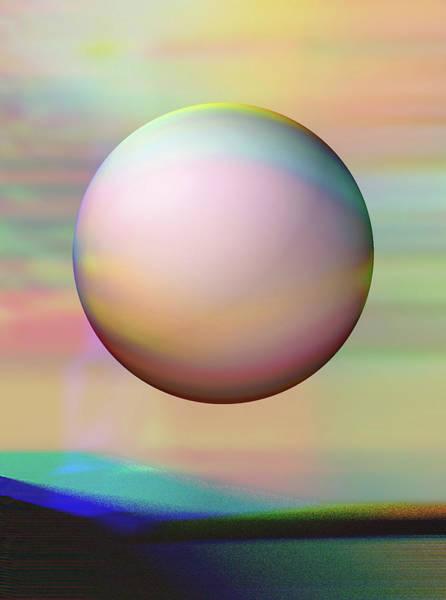 Digital Art - Sunrise Visitor by Wendy J St Christopher