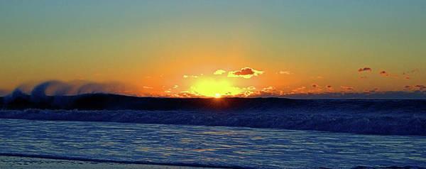 Photograph - Sunrise Wave I I I by Newwwman