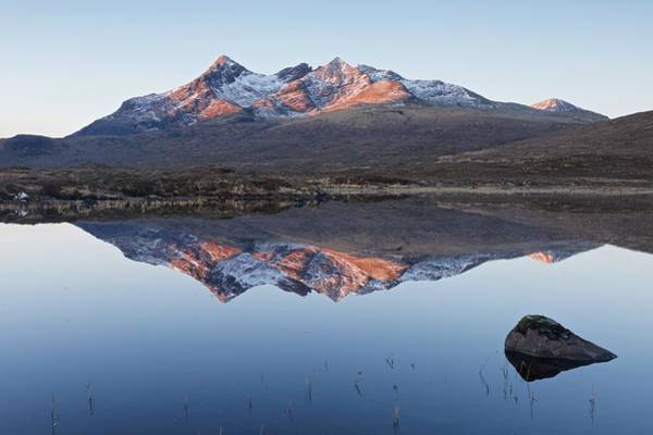 Photograph - Sunrsie At Sgurr Nan Gillean by Stephen Taylor