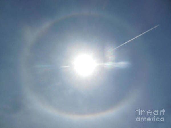 Photograph - Sun's Halo by Rockin Docks Deluxephotos