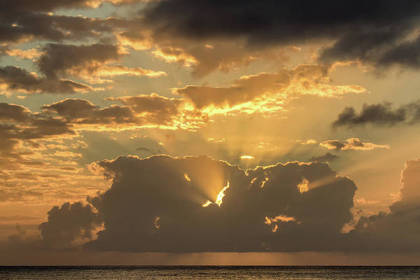 Photograph - Sun's Rays by David Buhler