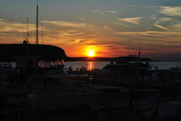 Photograph - Harbor In Ephraim by Linda Goad