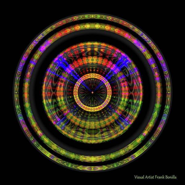 Digital Art - Sunset 1, Series II by Visual Artist Frank Bonilla